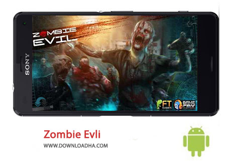 Zombie Evil Cover%28Downloadha.com%29 دانلود بازی ترسناک زامبی شرور Zombie Evil 1.18 برای اندروید