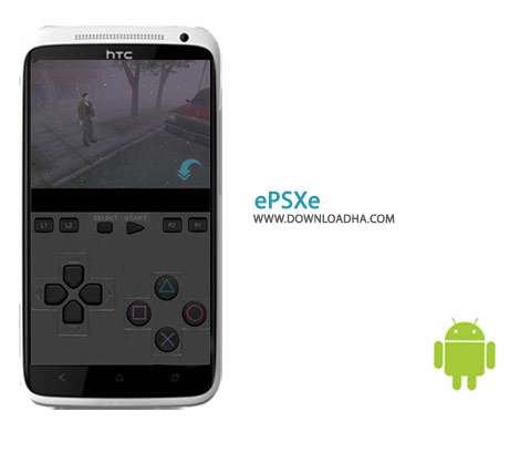 ePSXe Cover%28Downloadha.com%29 نرم افزار اجرای بازی های پلی استیشن ePSXe for Android 2.0.5   اندروید