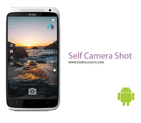 Self Camera Shot Cover%28Downloadha.com%29 دانلود نرم افزار سلفی Self Camera Shot 3.0.15   اندروید