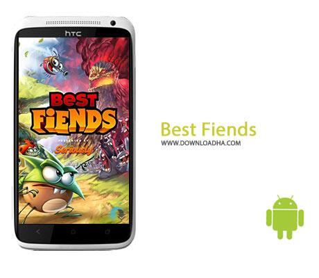 Best Fiends Cover%28Downloadha.com%29 دانلود بازی برترین شیاطین Best Fiends 3.3.0   اندروید