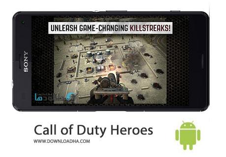 Call of Duty Heroes Cover%28Downloadha.com%29 دانلود بازی اکشن و زیبای ندای وظیفه قهرمانان Call of Duty Heroes 1.10.0 برای اندروید