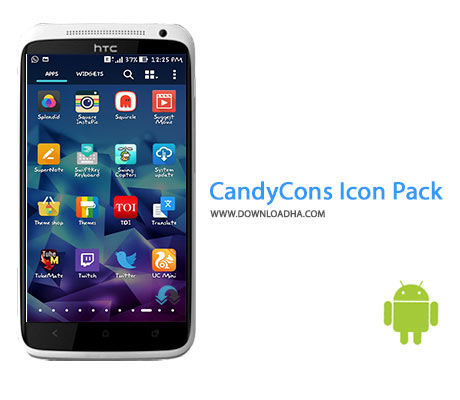 CandyCons Icon Pack Cover%28Downloadha.com%29 دانلود نرم افزار پک آیکون CandyCons Icon Pack 1.9 برای اندروید