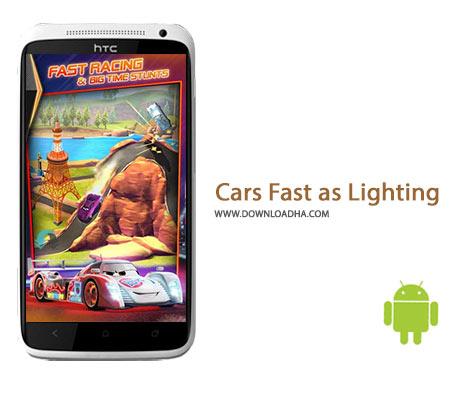 Cars Fast as Lighting Cover%28Downloadha.com%29 دانلود بازی مسابقه ای سرعتی به اندازه نور Cars Fast as Lightning 1.3.2d برای اندروید