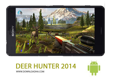 DEER HUNTER 2014 Cover%28Downloadha.com%29 دانلود بازی اکشن تیراندازی DEER HUNTER 2014 v2.10.2 برای اندروید