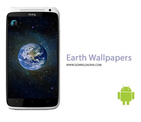 Earth Wallpapers Cover%28Downloadha.com%29 دانلود نرم افزار تصاویر فضایی از زمین Earth Wallpapers v1.0.2 برای اندروید