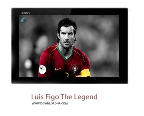 Luis Figo The Legend Cover%28Downloadha.com%29 دانلود کلیپ افسانه ای به نام فیگو