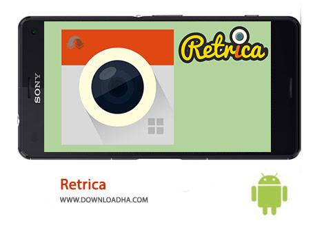 Retrica Cover%28Downloadha.com%29 دانلود نرم افزار مدیریت و ویرایش تصاویر Retrica 3.4.0   اندروید