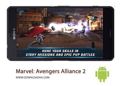 Marvel Avengers Alliance 2 Cover%28Downloadha.com%29 دانلود بازی زیبای اتحاد انتقام جویان Marvel: Avengers Alliance 2 1.1.1 برای اندروید