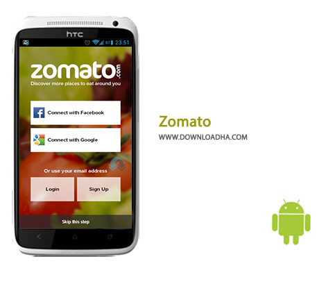 Zomato Cover%28Downloadha.com%29 دانلود نرم افزار یافتن رستوران Zomato 9.3.5 برای اندروید