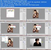Photoshop Action For Beginners ss s%28Downloadha.com%29 دانلود فیلم آموزش اکشن های فتوشاپ برای مبتدیان