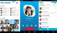 Skype ss s%28Downloadha.com%29 اسکایپ Skype 7.13.0.708   اندروید