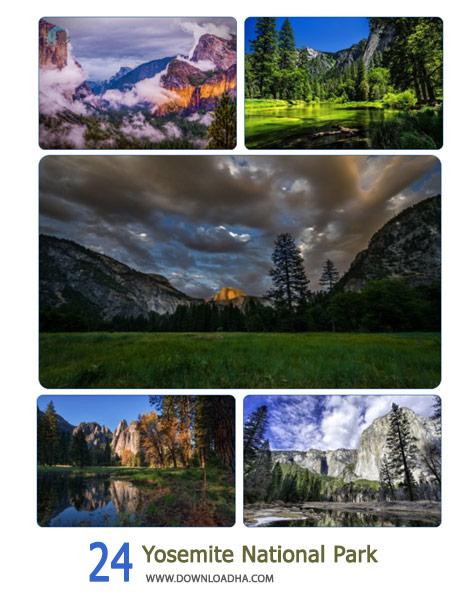 24 Yosemite National Park Cover%28Downloadha.com%29 دانلود مجموعه 24 والپیپر پارک ملی یوشیمیته