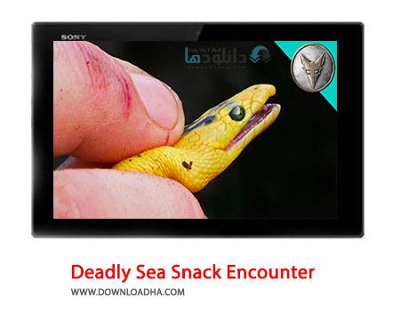 Deadly Sea Snack Encounter Cover%28Downloadha.com%29 دانلود کلیپ مارهای کشنده و سمی دریایی