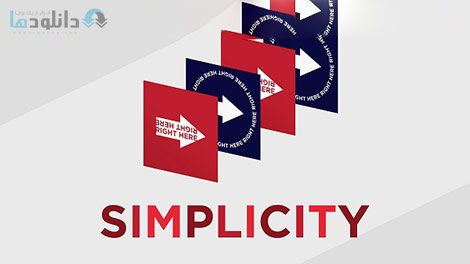 Designing With Simplicity Cover%28Downloadha.com%29 دانلود فیلم آموزش طراحی توسط Simplicity