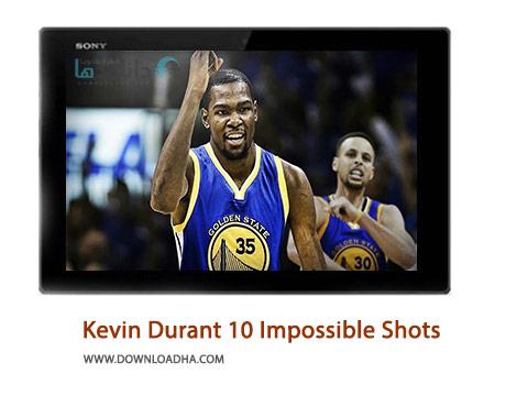 Kevin Durant 10 Impossible Shots Cover%28Downloadha.com%29 دانلود کلیپ 10 امتیاز برتر و غیرممکن کوین دورانت