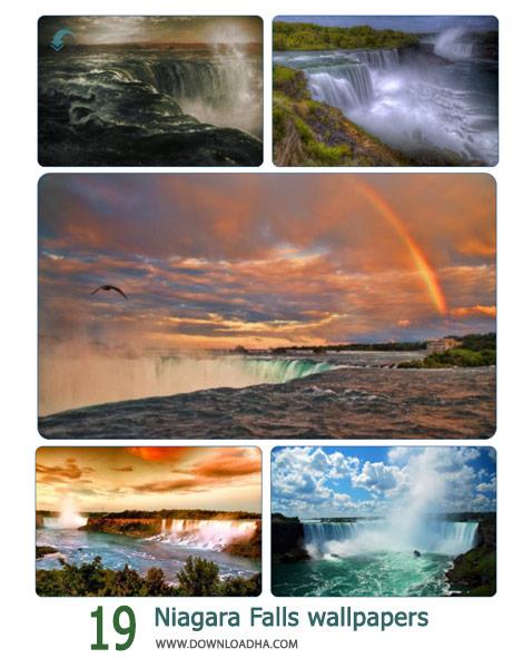 19 Niagara Falls wallpapers Cover%28Downloadha.com%29 دانلود مجموعه 19 والپیپر آبشار نیاگارا
