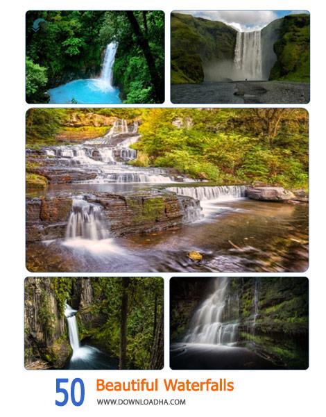 50 Beautiful Waterfalls Cover%28Downloadha.com%29 دانلود مجموعه 50 والپیپر زیبا از آبشار