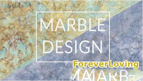 Create Multi Color Marble Texture in Photoshop Cover%28Downloadha.com%29 دانلود فیلم آموزش ساخت متون رنگی سنگ مرمر در فتوشاپ