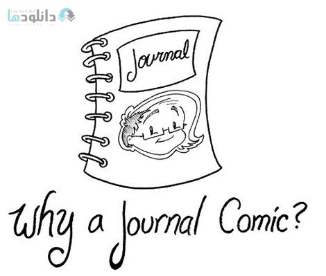 Creating Journal Comics Drawing Your Life Cover%28Downloadha.com%29 دانلود فیلم آموزش طراحی مجله های کامیک