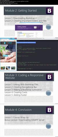 Exploring New Features Bootstrap 4 ss s%28Downloadha.com%29 دانلود فیلم آموزش ویژگی های جدید Bootstrap 4