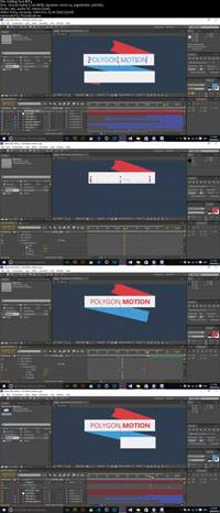 Flat Ribbon Design and Motion in After Effects ss s%28Downlaodha.com%29 دانلود فیلم آموزش فلت ریبون و متحرک سازی آن در افترافکت