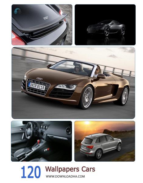 120 Wallpapers Cars Cover%28Downloadha.com%29 دانلود مجموعه 120 والپیپر ماشین