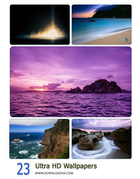 23 Ultra HD Wallpapers Cover%28Downloadha.com%29 دانلود مجموعه والپیپر متنوع با کیفیت Ultra HD