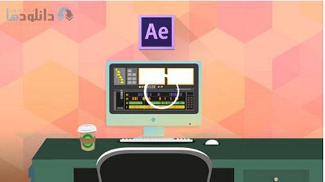After Effects Create Slide Shows Build a Complete Project Cover%28Downloadha.com%29 دانلود فیلم آموزش ساخت اسلایدشو در افتر افکت
