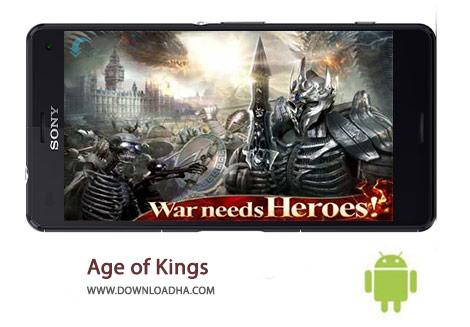 Age of Kings Cover%28Downloadha.com%29 دانلود بازی استراتژیک عصر پادشاهان Age of Kings 1.28.1   اندروید