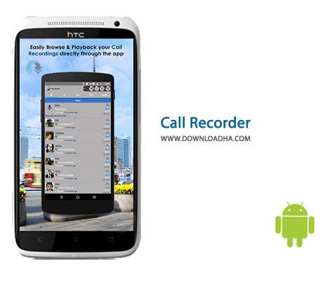 Call Recorder Cover%28Downloadha.com%29 دانلود نرم افزار ضبط تماس Call Recorder 2.0.40 برای اندروید