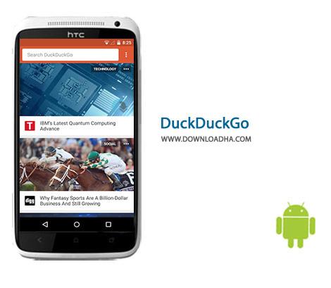 DuckDuckGo Cover%28Downloadha.com%29 دانلود موتور جستجوی قدرتمند DuckDuckGo 3.0.12 برای اندروید