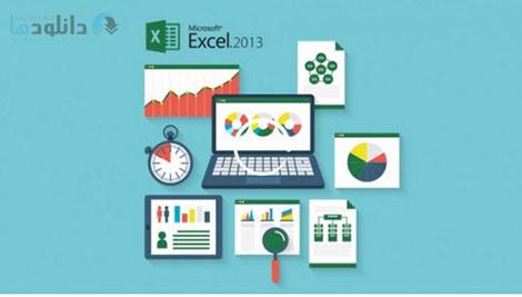 Excel 2013 Basics for Business Cover%28Downloadha.com%29 دانلود فیلم آموزش پایه های اکسل 2013 برای مشاغل
