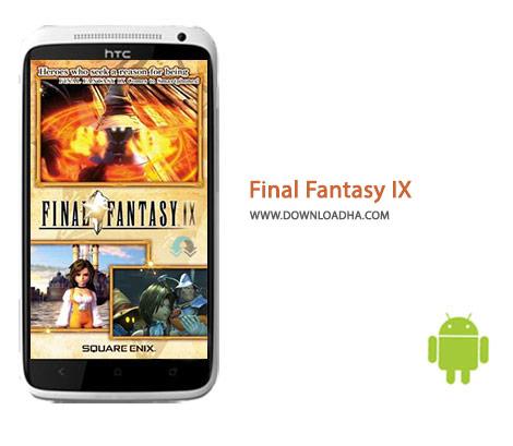 Final Fantasy IX Cover%28Downloadha.com%29 دانلود بازی اکشن و پرطرفدار فاینال فانتزی FINAL FANTASY IX 1.0.2 برای اندروید