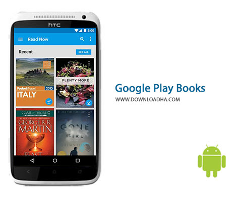 Google Play Books Cover%28Downloadha.com%29 دانلود برنامه کتابخانه رسمی گوگل Google Play Books 3.10.27   اندروید