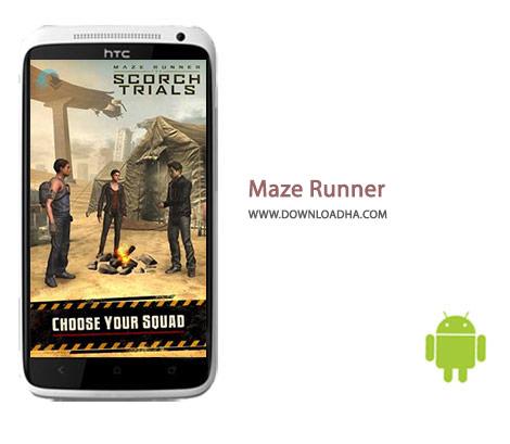 Maze Runner Cover%28Downloadha.com%29 دانلود بازی رانر و زیبای دونده مارپیچ Maze Runner: The Scorch Trials 1.0.12 برای اندروید