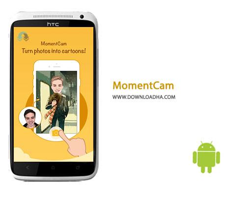 MomentCam Cover%28Downloadha.com%29 دانلود نرم افزار ویرایش عکس MomentCam 3.2.0   اندروید