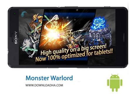 Monster Warlord Cover%28Downloadha.com%29 دانلود بازی جنگ سالاری هیولا Monster Warlord 3.1.2   اندروید