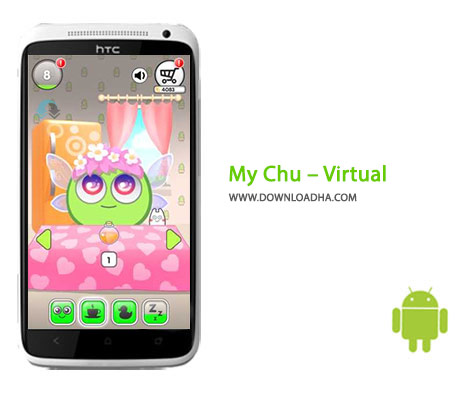 My Chu Virtual Cover%28Downloadha.com%29 دانلود بازی کودکانه چوی من My Chu – Virtual Pet 1.2.7   اندروید