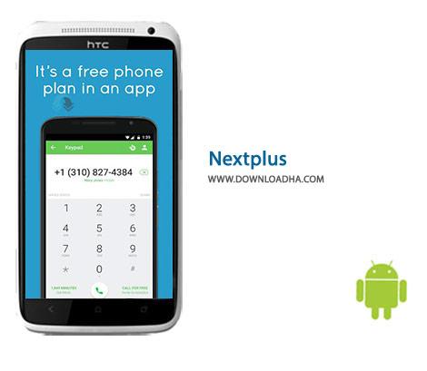 Nextplus Cover%28Downloadha.com%29 دانلود شبکه اجتماعی رایگان Nextplus 1.5.3 برای اندروید