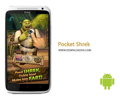 Pocket Shrek Cover%28Downloadha.com%29 دانلود بازی زیبای شرک Pocket Shrek 2.09   اندروید