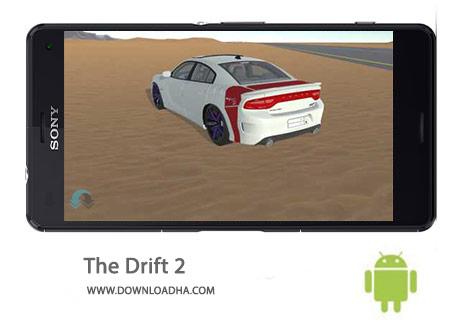 The Drift 2 Cover%28Downloadha.com%29 دانلود بازی مسابقه ای و زیبای دریفت The Drift 2 1.0 برای اندروید