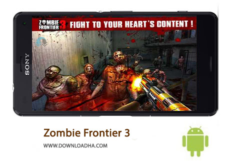 دانلود بازی اکشن و مهیج منطقه زامبی Zombie Frontier 3 1.33 برای اندروید