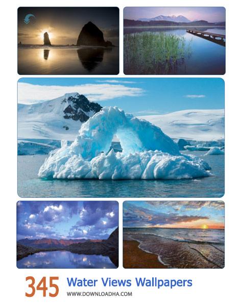 345 Water Views Wallpapers Cover%28Downloadha.com%29 دانلود مجموعه 345 والپیپر زیبا از چشم اندازهای آب