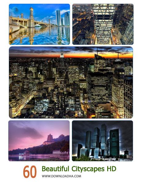 60 Beautiful Cityscapes HD Cover%28Downloadha.com%29 دانلود مجموعه 60 والپیپر از شهرهای زیبای جهان