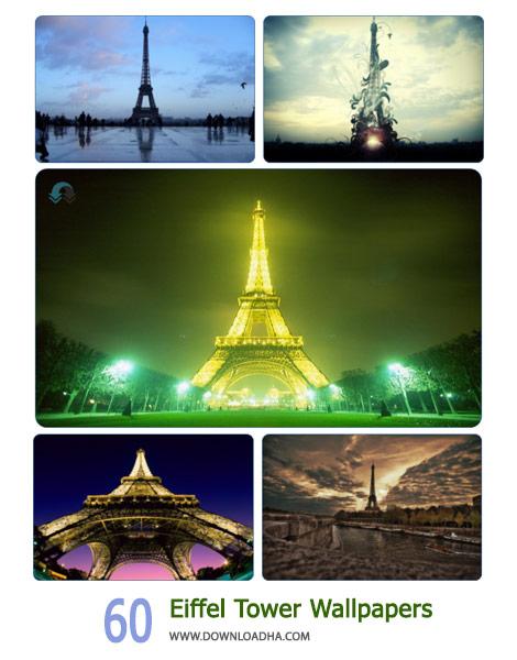 60 Eiffel Tower Wallpapers Cover%28Downloadha.com%29 دانلود مجموعه 60 والپیپر از برج ایفل