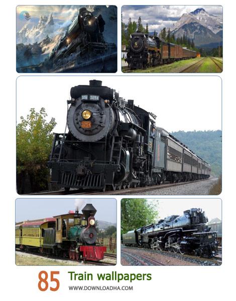 85 Train wallpapers Cover%28Downloadha.com%29 دانلود مجموعه 85 والپیپر قطار