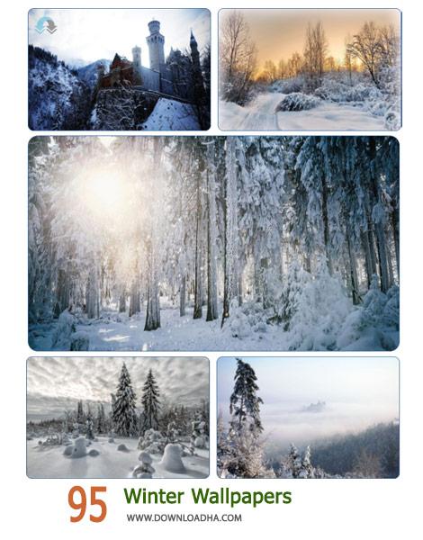 95 Winter Wallpapers Cover%28Downloadha.com%29 دانلود مجموعه 95 والپیپر زمستان
