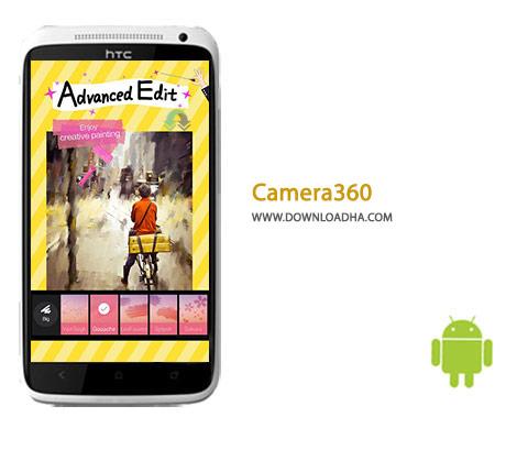 دانلود نرم افزار فتوگرافی حرفه ای Camera360 7.2 برای اندروید
