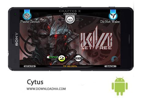 Cytus Cover%28Downloadha.com%29 دانلود بازی موزیکال Cytus 9.1.2 برای اندروید