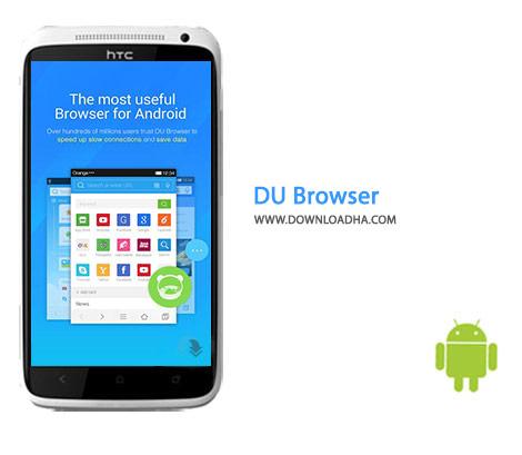 DU Browser Cover%28Downloadha.com%29 دانلود مرورگر هوشمند DU Browser 6.3.0.1 برای اندروید